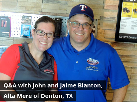 Q&A with John and Jaime Blanton, Alta Mere of Denton, TX
