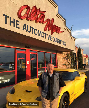 Alta Mere Franchisee of the Year – Greg Goodman